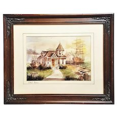 A framed matted David Irvine photographic reproductions Artist proof pencil signed. FREE US SHIPPING