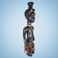 A Dan Lu Me figure IvoryCoast, Liberia- 19th-20th century