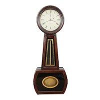 Howard & Davis No. 1 Weight Driven Regulator Banjo Clock C. 1850 MINT ORIGINAL