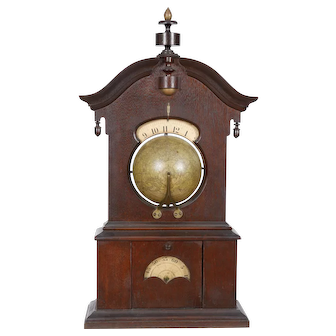 Timby Solar Timepiece Clock, Saratoga Springs NY C. 1860's