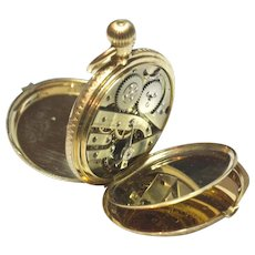 Vacheron Constantin 18K Gold Pocket Watch With Original Bill Of Sale 1874