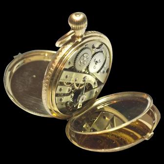 Vacheron Constantin 18K Gold Pocket Watch With Original Bill Of Sale 1874