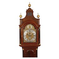 Samuel Hodges, London High Style Mahogany Longcase Clock C. 1770