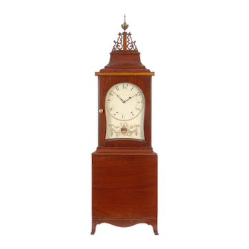 A fine Federal mahogany shelf clock, Boston, Massachusetts, circa 1810
