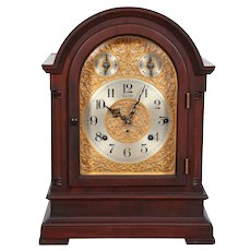Seth Thomas 8 Bell Sonora Chime Mantel Clock, Mahogany Case, Dated 1914, Serviced !