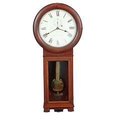 Seth Thomas #2 Cherry Weight Driven Regulator Clock C. 1890