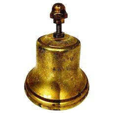 Vintage US Navy Brass Bell