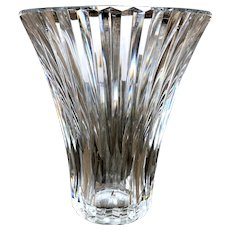 Vintage Baccarat Large French Crystal Vase