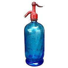 Vintage French Seltzer Bottle