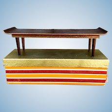 Vintage 1958 Mattel Modern Mid Century Coffee Table #803 w/box