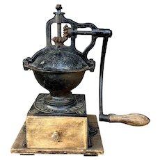 Antique 19th C. Peugeot Frères Brevetés French Coffee Grinder