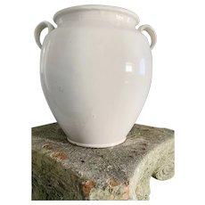 Rare Antique French Confit Pot