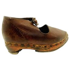 Leather Children's Shoe