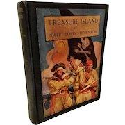 1941 Treasure Island Book w/ misprint error.