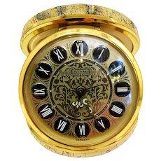 Vintage Estyma German Pocket Clock