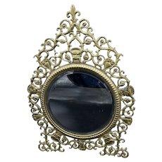 Art Nouveau Gargoyle Mirror
