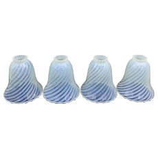 Victorian Opaline Glass Shades