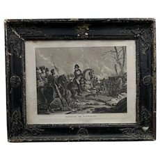 Antique Pair Of French Prints Circa 1850