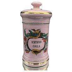 Antique Apothecary Jar