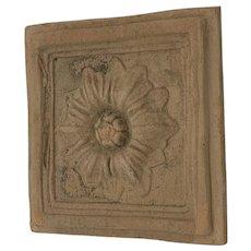 Vintage Terracotta Handmade Tile