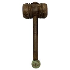 Primitive Judges Gavel