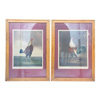 """Antique 19th Century Pair of Aquatints """"War and Peace"""" Charles Turner"""