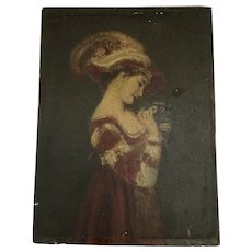 Beautiful 19th Century French Oil Painting