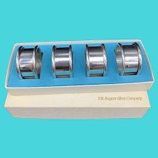 Vintage F.B. Rogers Silverplate Napkin Rings