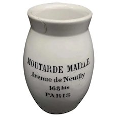 Late 19th Century French Mustard Pot
