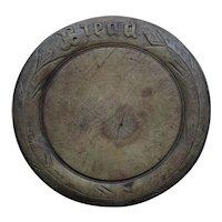 Antique English Primitive Bread Board