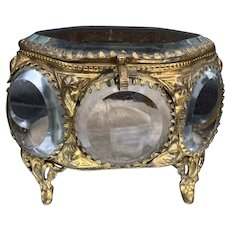 French Art Nouveau Jewelry Casket