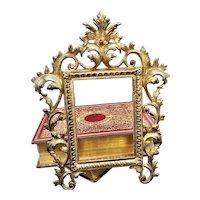Art Nouveau French Metal Frame