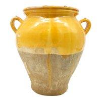 Antique Mid 19th Century French Languedoc Confit Jar