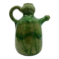 An Antique Green French Huilier from Boit