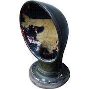 """Vintage Bronze Heavy Ship Vent w/ original paint. 12""""H"""