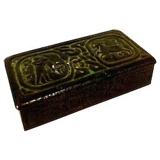 Tiffany Studios Zodiac Stamp Box 802