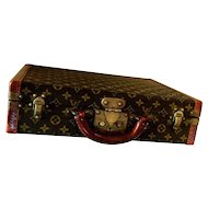 Vintage Authentic Louis Vuitton Suitcase