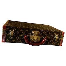 Vintage Authentic Louis Vuitton Suitcase