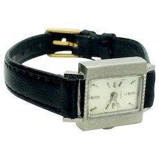 Rolex Tudor 18k White Gold Ladies Wristwatch Just Serviced