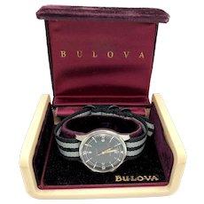 C. 1962 Bulova Super Compressor Stainless Steel Mens Diver's Watch w/ box