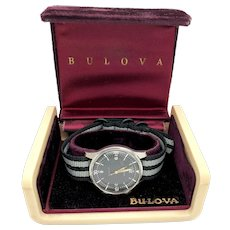 C. 1962 Bulova Super Compressor Stainless Steel Mens Diver's Watch w/ box