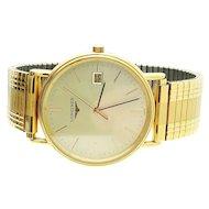Longines Presence Gold Plated Gentleman's 32mm Wrist Watch
