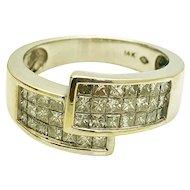 14k White Gold Diamond Ring 1.44TCW