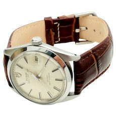 1969 Rolex Tudor Prince Oysterdate Automatic Swiss Watch 9050/0
