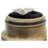 TACORI Platinum 0.90ct GIA Diamond Engagement Ring 1.52TCW