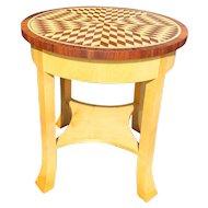 Joseph Hoffman Lamp Table