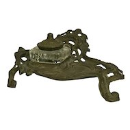 Antique French Inkwell