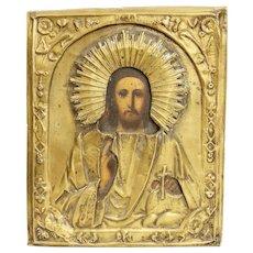 Vintage Russian Religious Icon