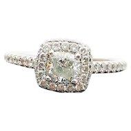 $5950 14k White Gold Michael Hill Ladies Diamond Ring 1.15TCW