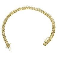 $2575 10k Diamond Tennis Bracelet 0.90TCW w/appraisal